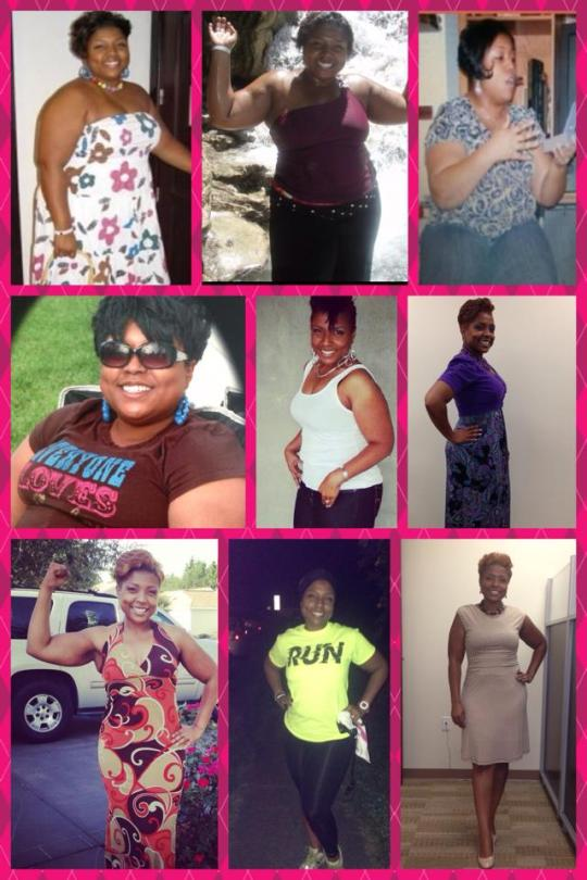 Weight Transition Collage