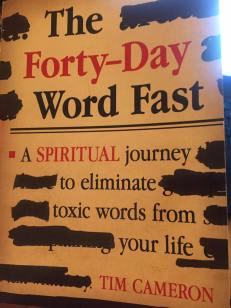 40 day word fast by Tim Cameron