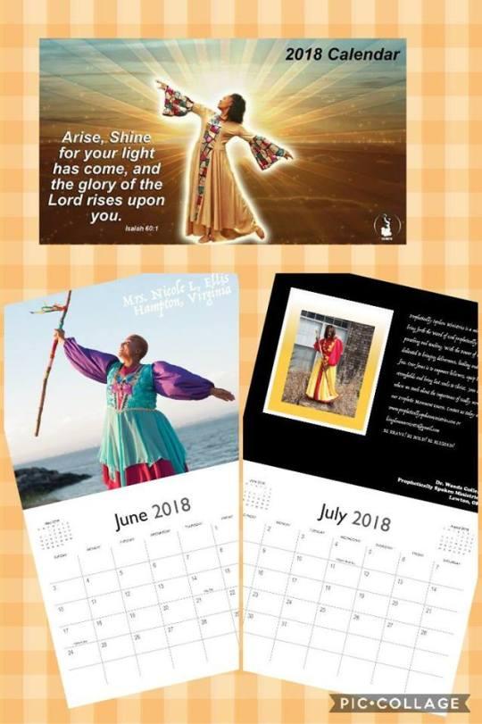 DIMFH Calendar